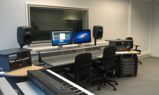 BOA Recording studio - D command installed