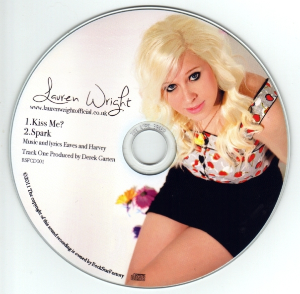 Lauren CD - Kiss Me