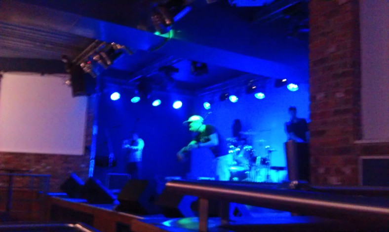 River Rooms sound check