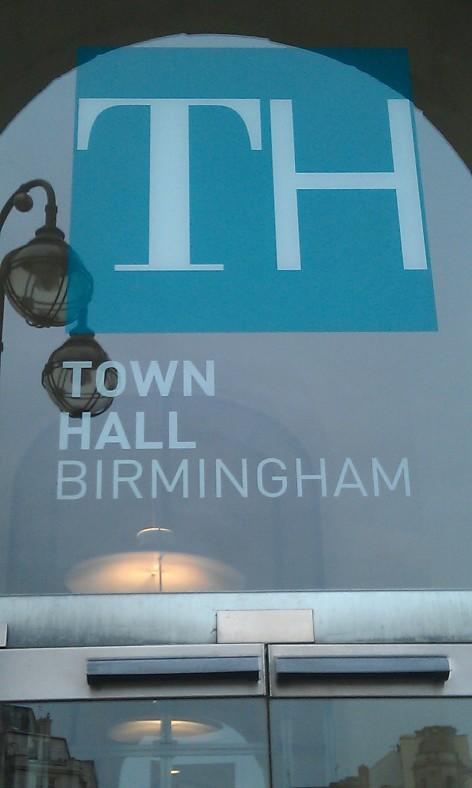 Birmingham Town Hall 2