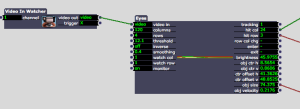 Isadora Audio Trigger From Stream Patch Part 1
